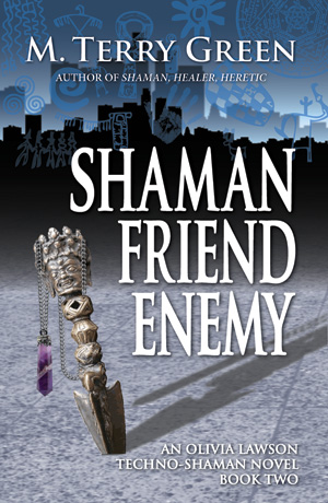 First cover for Shaman, Friend, Enemy