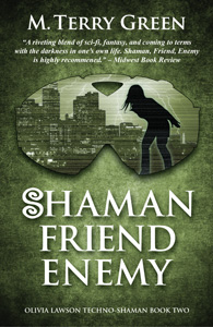 Second cover for Shaman, Friend, Enemy